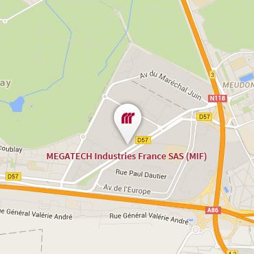 Sites - France   MEGATECH Industries on